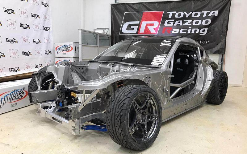 Российский офис Toyota представил 1000-сильную GR Supra