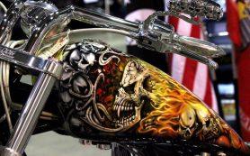 Аэрография на мотоциклы и шлемы
