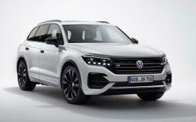 Volkswagen попрощается с дизелем V8 спецверсией Touareg