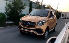 В Узбекистане выпустят похожие на Mercedes машины за 3 тыс. долларов