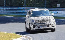 Новый Range Rover поймали в камуфляже