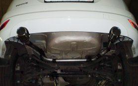 Характеристики глушителей на автомобилях  Ford