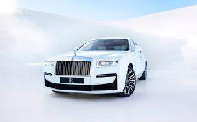 Rolls-Royce рассекретил седан Ghost нового поколения