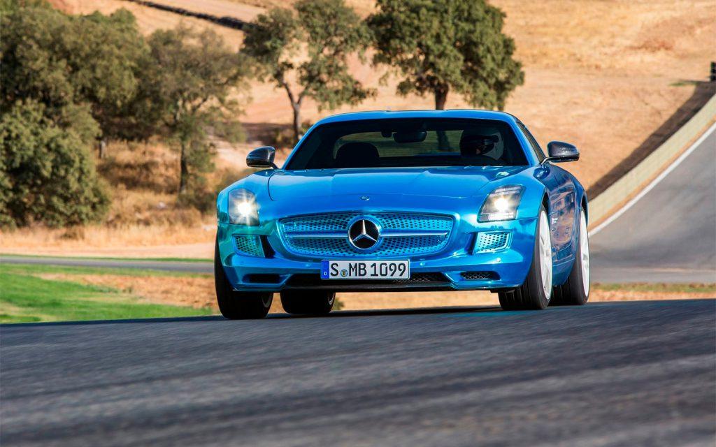 Mercedes выпустит полностью электрический спорткар