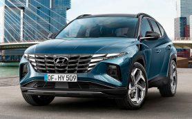 Hyundai представил кроссовер Tucson нового поколения