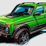 В Германии разработали самую дорогую версию внедорожника Lada 4x4