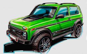 В Германии разработали самую дорогую версию внедорожника Lada 4×4