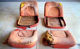 Рваные кресла от Chevrolet Corvette продают за 7 миллионов рублей