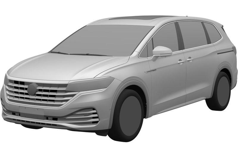 VW запатентовал в России новую модель — Viloran