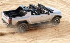 «Электропикапы – наше будущее»: GM представила электрический Hummer