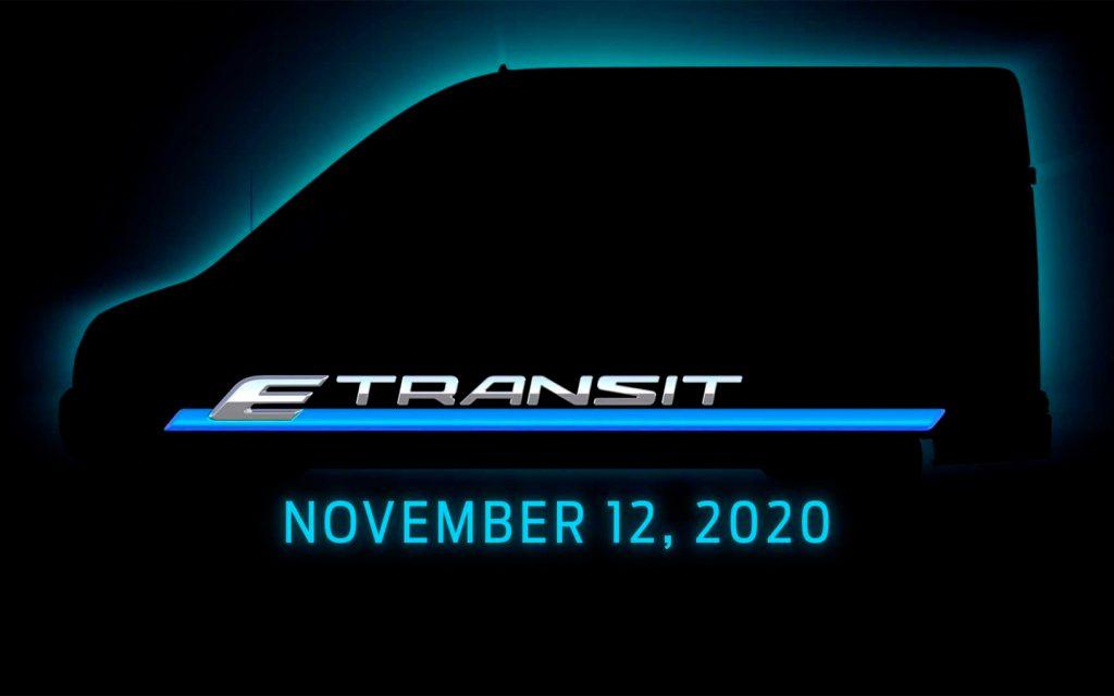 Ford анонсировал премьеру электрического фургона