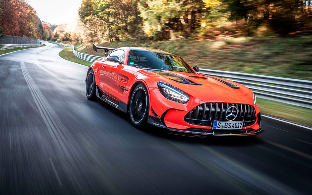 Мощнейший Mercedes установил абсолютный рекорд Нюрбургринга