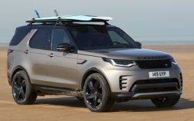 Обновлённый Land Rover Discovery, лишившийся моторов V6, подорожал на миллион рублей