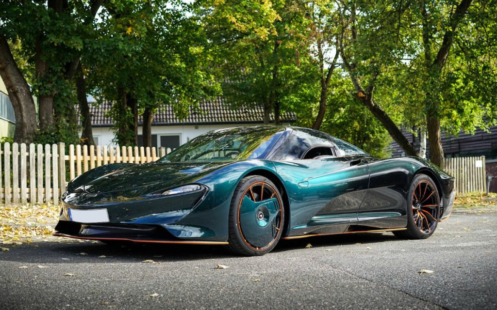 Быстрейший McLaren в истории выставили на продажу за €4 млн