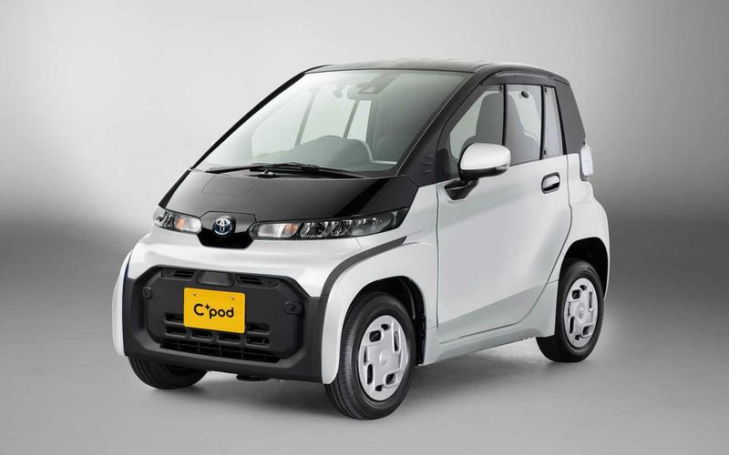 Toyota выпустила крошечный 12-сильный автомобиль