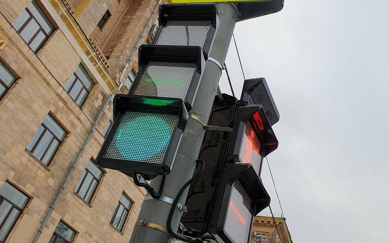 Квадратные светофоры измерят чистоту воздуха