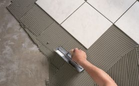 Керамика на полу – особые требования