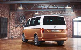 Дизайн нового Volkswagen Multivan рассекретили до премьеры