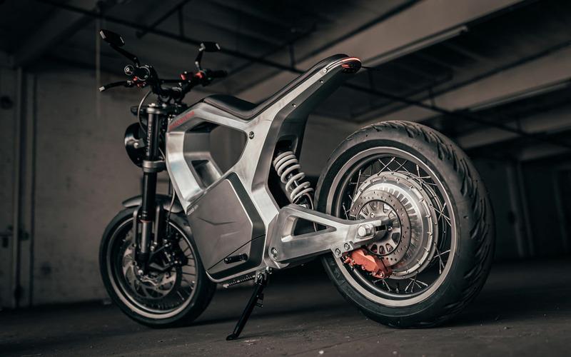 Sondors Metacycle — необычный мотоцикл для города