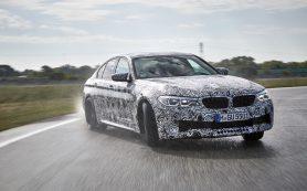Новая «заряженная» версия седана: в линейке BMW появился M5 CS с 635-сильным мотором