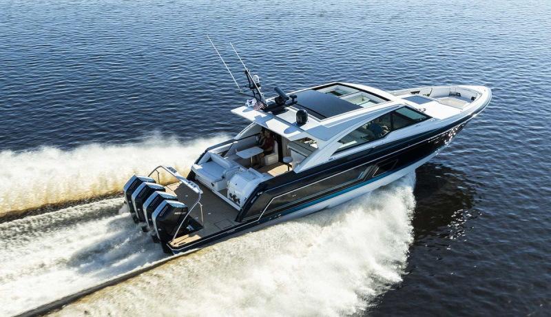 Компания Mercury представила лодочный мотор V12 мощностью 600 лошадей