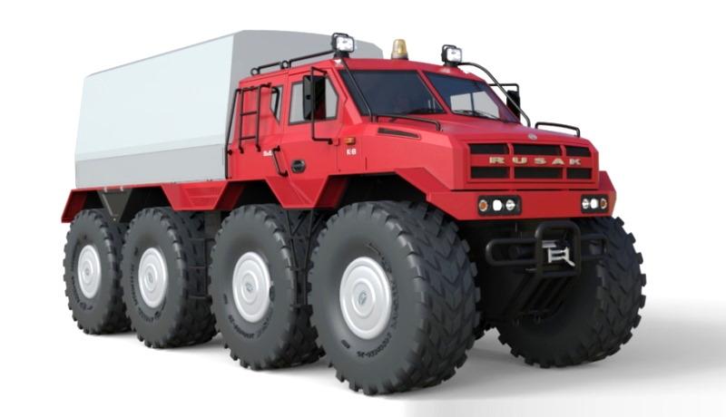 Российская компания сделала грузовик для экстремального бездорожья