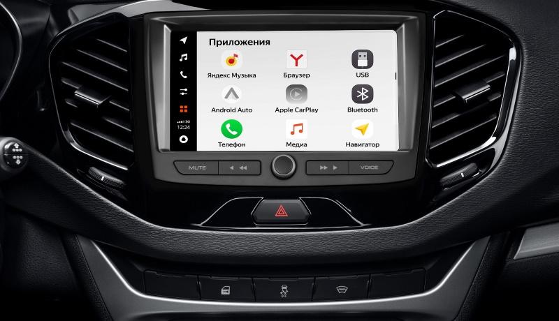 АвтоВАЗ представил новую медиасистему для «Лады»