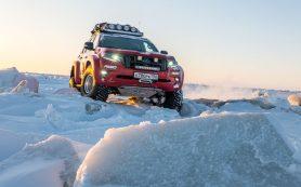 Toyota Hilux и Land Cruiser Prado успешно завершили масштабную «зимнюю» экспедицию