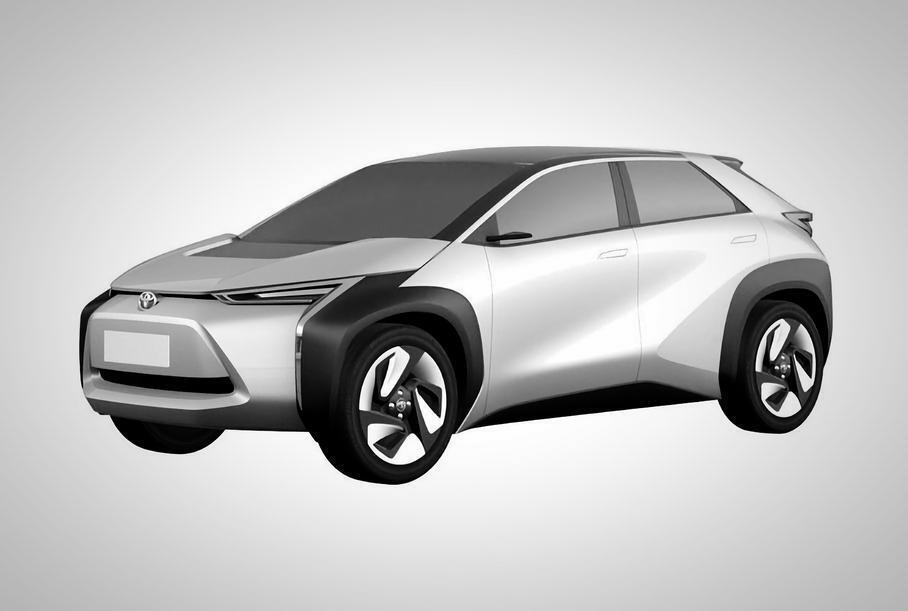 Toyota раскрыла подробности о новом электрическом кроссовере