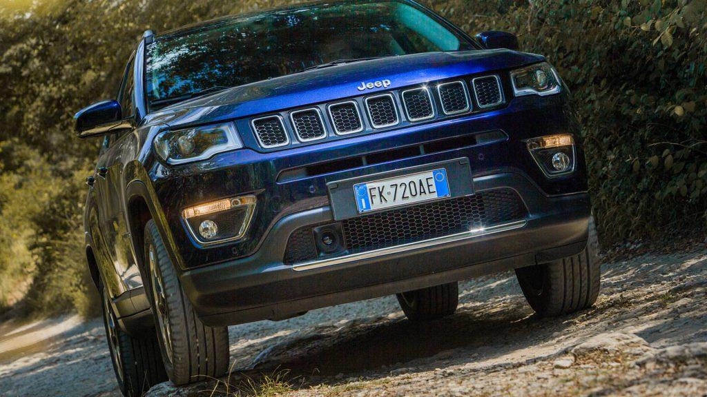 Новый 7-местный Jeep Compass: первые изображения