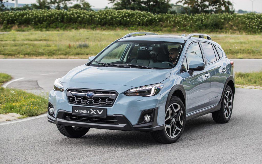 Обновленный Subaru XV: начались продажи