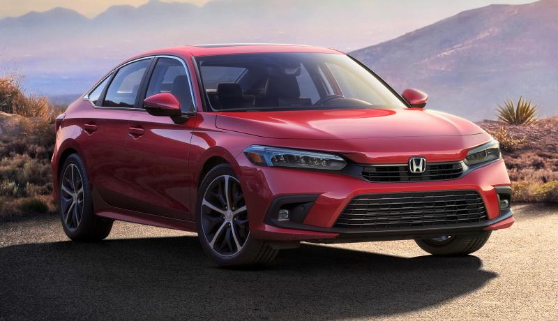 Honda показала Civic нового поколения: все подробности о модели