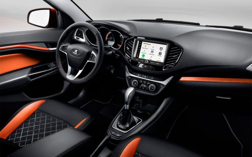 Автомобили Lada получили новую мультимедиа