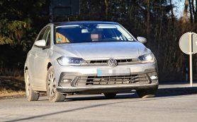 Обновленный VW Polo почти превратился в Golf