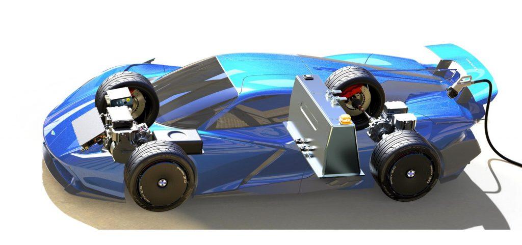 Суперкар Estrema Fulminea готовится к премьере: твердотельная АКБ и суперконденсаторы