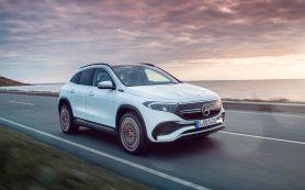 Кроссовер Mercedes EQA получил дополнительный мотор и полный привод