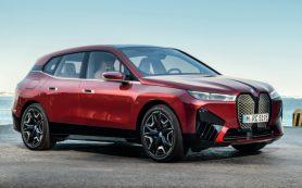Марка BMW объявила цену нового электрокроссовера для России