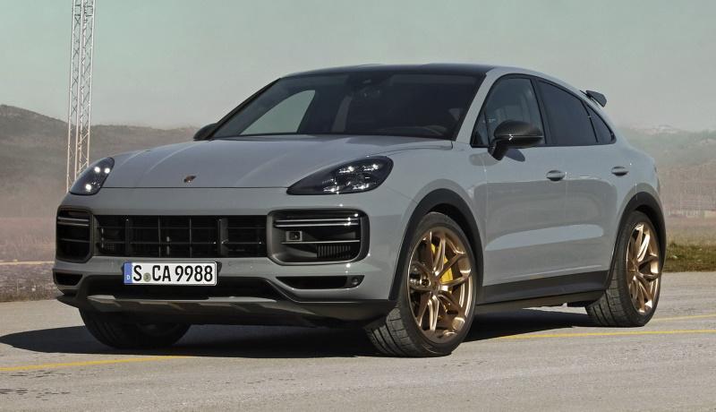 Представлена самая быстрая версия кроссовера Porsche Cayenne