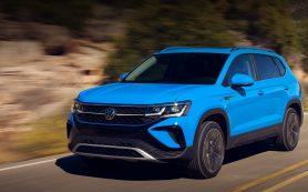 VW Taos дебютировал в России: дешевле, чем Tacqua, но чуть дороже, чем Skoda Karoq