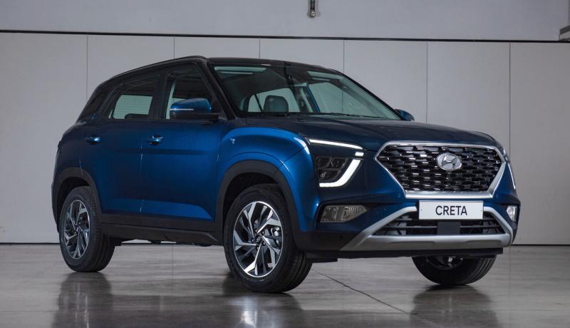 Компания Hyundai объявила цены на новую «Крету»