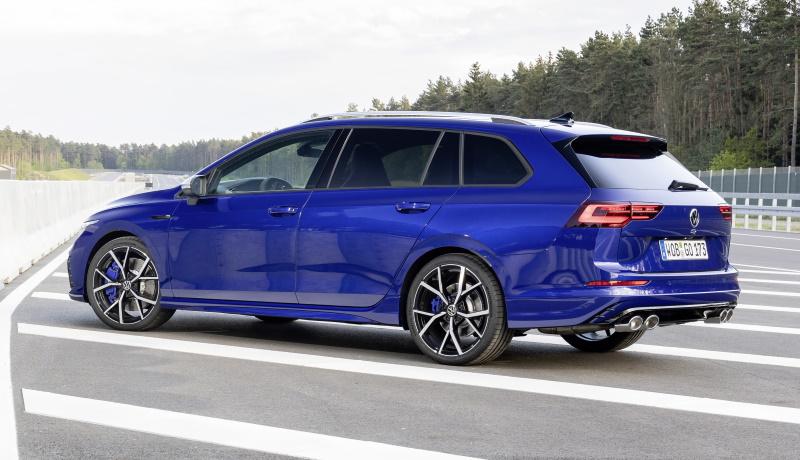 Компания Volkswagen представила «заряженный» универсал Golf R