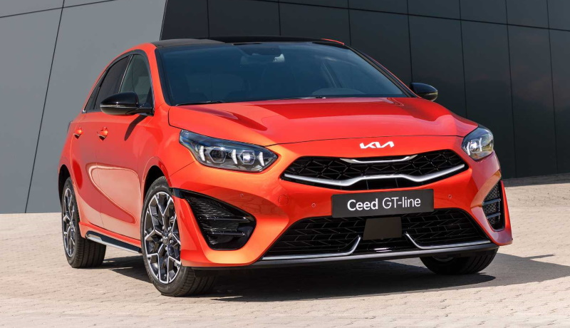 Хэтчбеки и универсалы Kia Ceed получили обновлённый дизайн