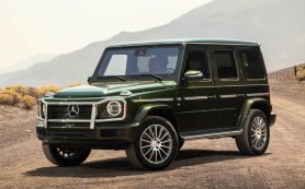 В Mercedes назвали сроки выпуска электрических G-Class и Maybach