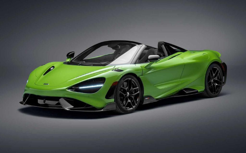 McLaren представил самый мощный родстер в своей истории