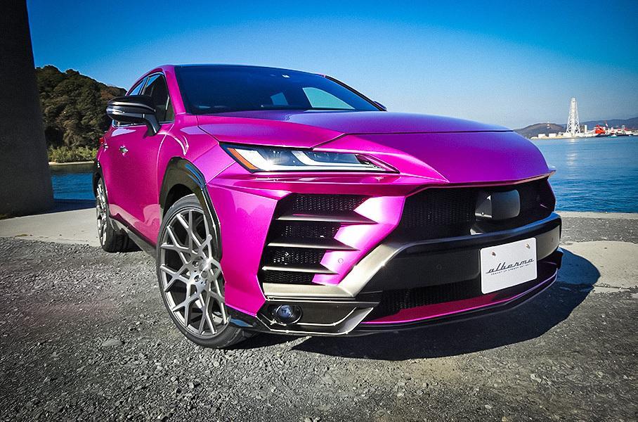 Из Toyota Venza попытались сделать Lamborghini Urus