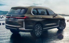 BMW готовит к премьере обновлённый кроссовер X7: новое изображение