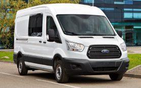 Автомобили Ford Transit теперь можно взять по подписке