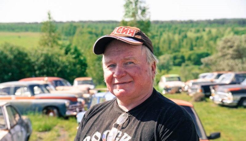 Умер Михаил Красинец, обладатель одной из крупнейших коллекций советских автомобилей
