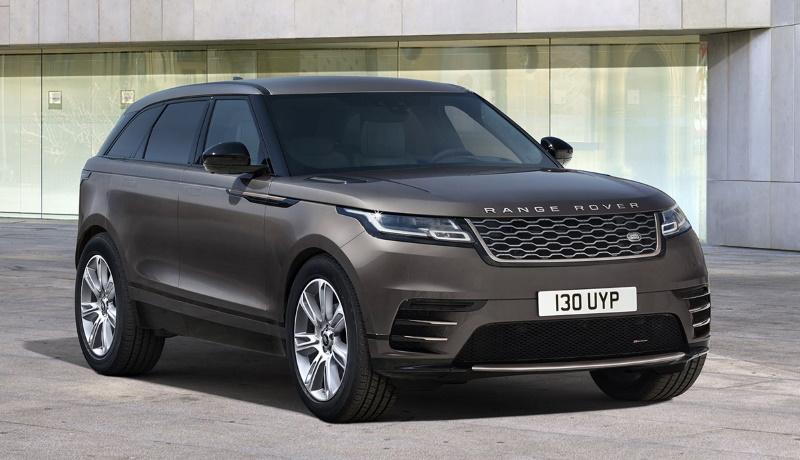 Range Rover представил обновленный кроссовер Velar