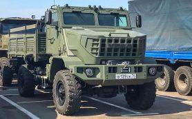 Завод «Урал» сделал новый бронированный грузовик для военных